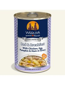 Weruva Classic Canned Dog Food, Bed & Breakfast, 12/14 oz (CASE)