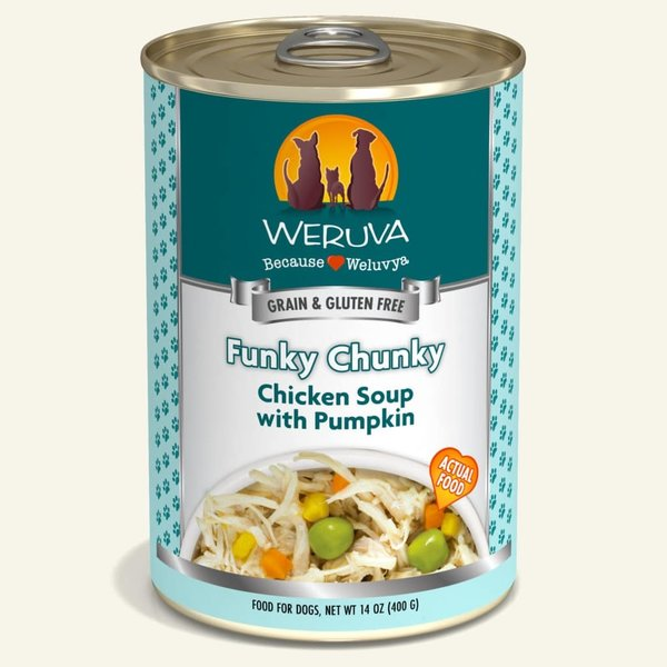 Weruva Classic Canned Dog Food, Funky Chunky, 12/14 oz (CASE)