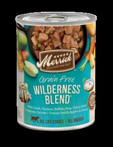 Merrick Canned Dog Food, Wildnerness Blend, 12/12.7 oz (CASE)
