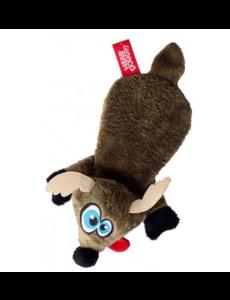 Hear Doggy Flats Brown Deer Dog Toy