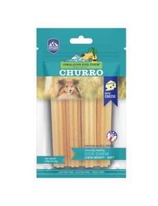 Himalayan Dog Chew Yaky Churro Cheese Dog Chew, 4.9 oz bag