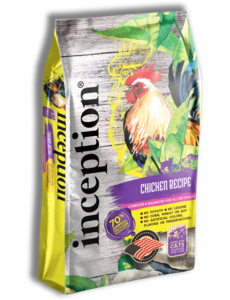 Inception Dry Cat Food, Chicken