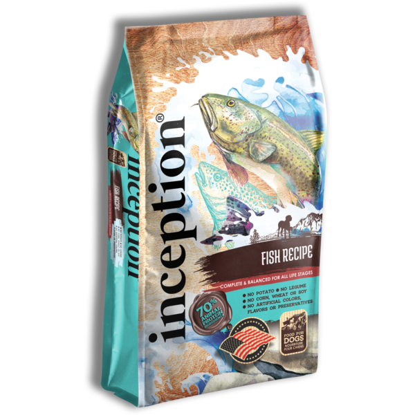Inception Dry Dog Food, Fish