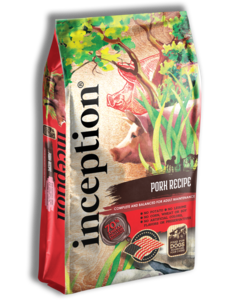 Inception Dry Dog Food, Pork
