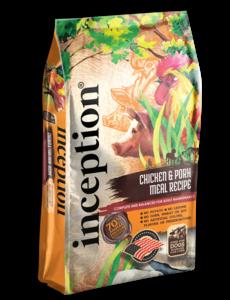 Inception Dry Dog Food, Chicken & Pork