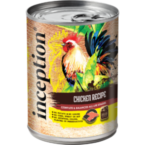 Inception Canned Dog Food, Chicken, 13 oz can