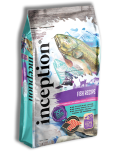 Inception Dry Cat Food, Fish