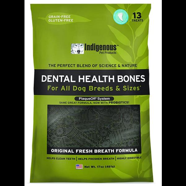 Indigenous Dental Health Bones Fresh Breath, 17 oz bag