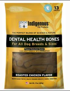 Indigenous Dental Health Bones Roasted Chicken, 17 oz bag