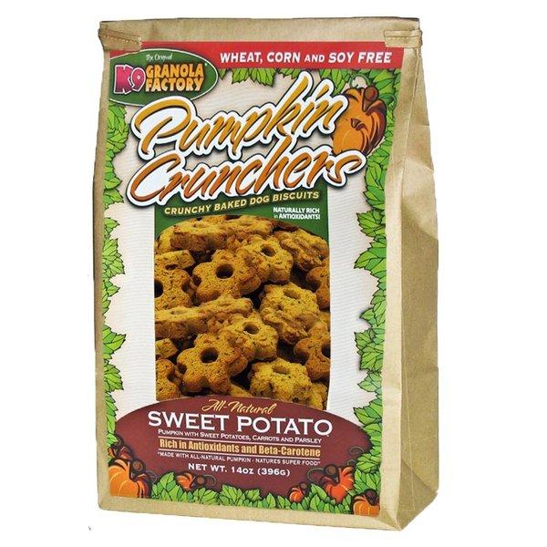K9 Granola Factory Sweet Potato Pumpkin Cruncher, 14 oz bag