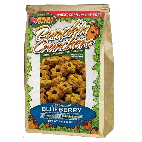 K9 Granola Factory Blueberry Pumpkin Cruncher, 14 oz bag