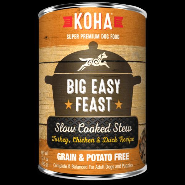 Koha Big Easy Feast Canned Dog Food, 12.7 oz can
