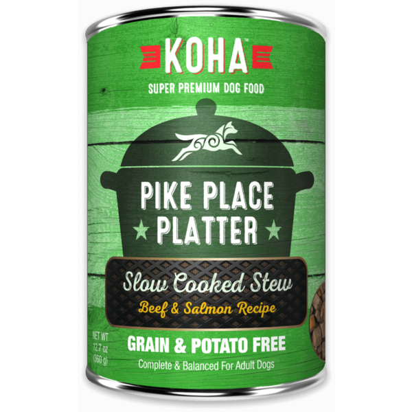 Koha Pike Place Platter Canned Dog Food, 12.7 oz can