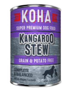 Koha Kangaroo Stew Canned Dog Food, 12.7 oz can