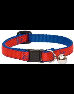 "Lupine Club Derby Red Cat Collar 8-12"""