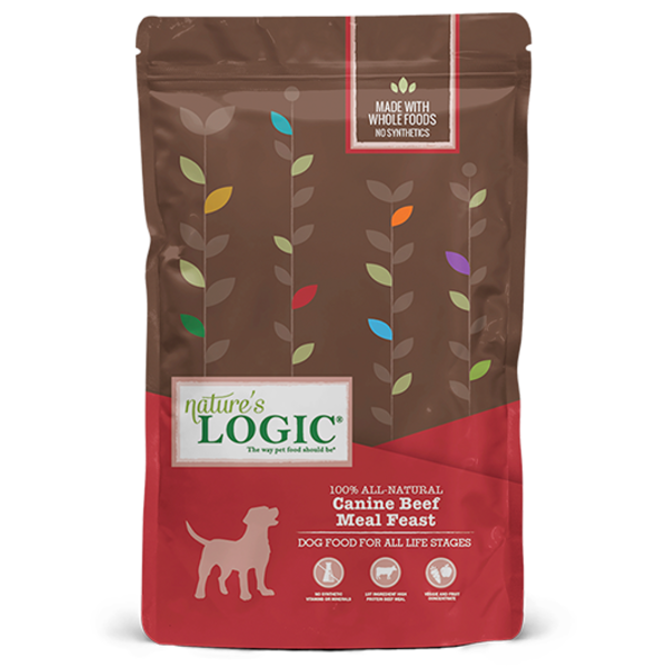 Nature's Logic Dry Dog Food, Beef, 26.4 lb bag