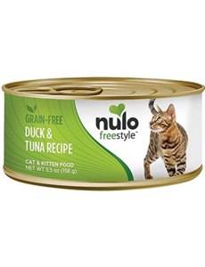 Nulo Freestyle Duck & Tuna Canned Cat & Kitten Food, 5.5 oz can