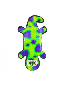 Invincibles Gecko Green/Purple Dog Toy
