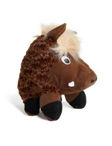"Patchwork Pet Swirl Warthog, 8"" Dog Toy"