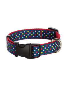 Paw Paws Bubble Gum Tutti Frutti on Red Collar