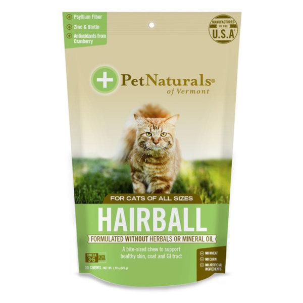Pet Naturals of Vermont Hairball Cat Chews, 30 ct bag