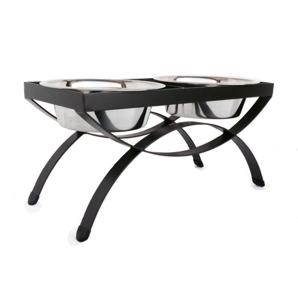 Pets Stop Seesaw Double Diner, Large, Mocha