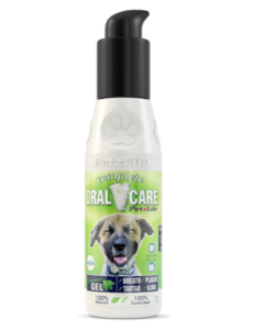 PetzLife Peppermint Oral Care Gel, 4 oz bottle