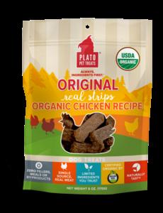 Plato Pet Treats Original Chicken Dog Treats, 18 oz bag