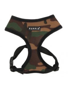 Puppia Soft Harness Camo, Medium