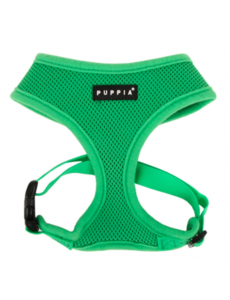 Puppia Soft Harness Green, Large