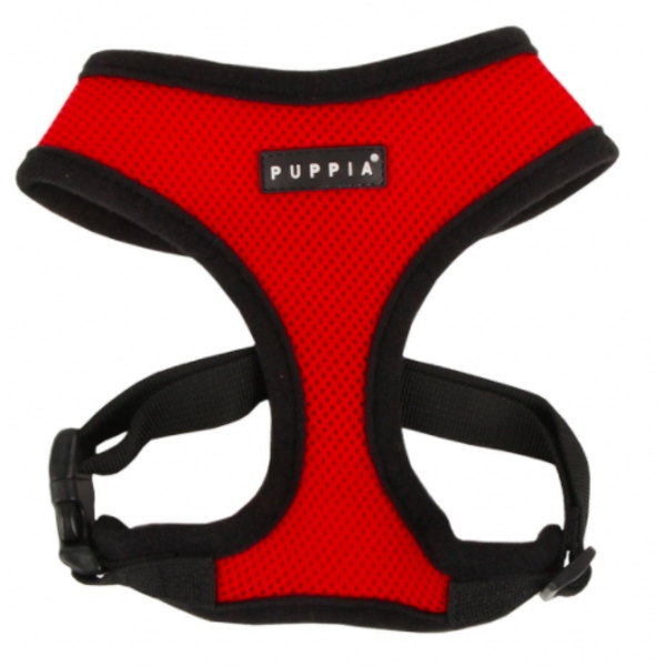 Puppia Soft Harness Red, Large