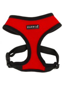Puppia Soft Harness Red, Medium