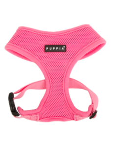 Puppia Soft Harness Pink, Extra Small