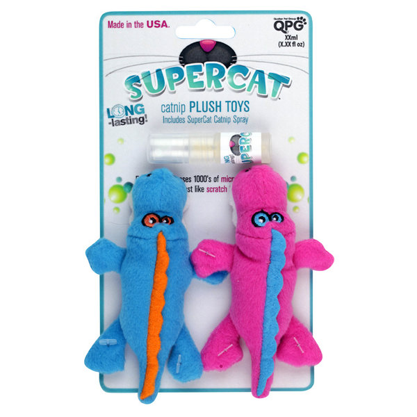 SuperCat Gator Plush Cat Toy