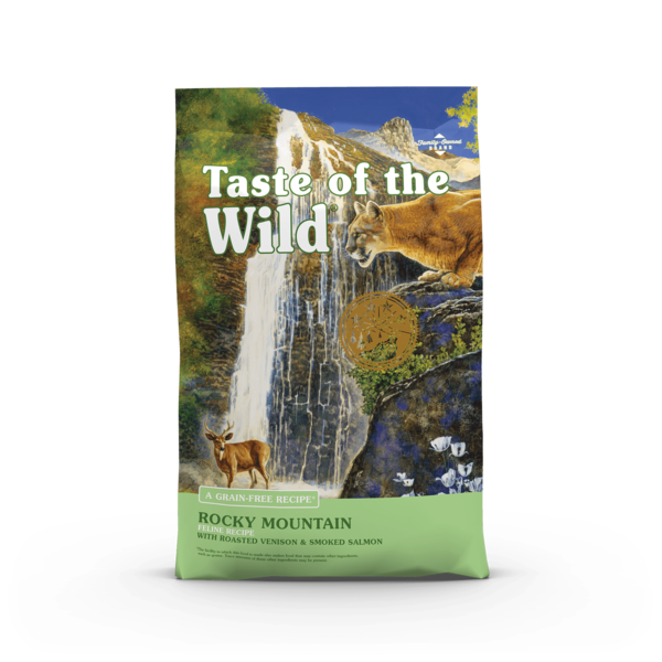 Taste of the Wild Rocky Mountain Cat Dry Food, 14 lb bag