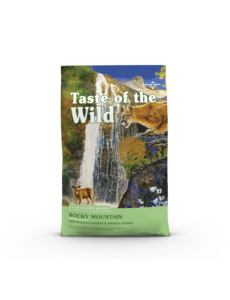 Taste of the Wild Rocky Mountain Cat Dry Food, 5 lb bag