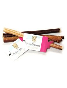"The Natural Dog Company 6"" Skinny Bully Stick Odor Free"
