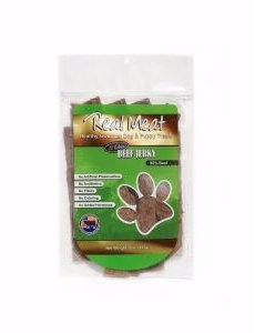 The Real Meat Company Beef Jerky Stix, 8 oz bag