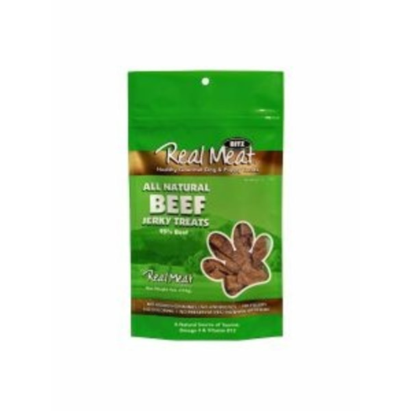 The Real Meat Company Beef Jerky Bits, 4 oz bag