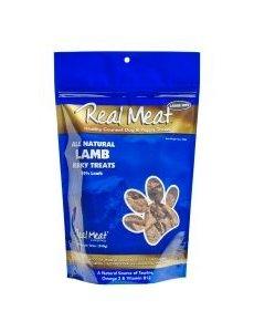 The Real Meat Company Lamb Jerky Bits, 12 oz bag
