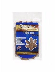 The Real Meat Company Lamb Jerky Stix, 8 oz bag