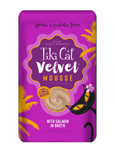 Tiki Velvet Mousse Cat Food Pouches