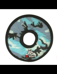 Tuffy Dog Toy Jr Ring, Blue