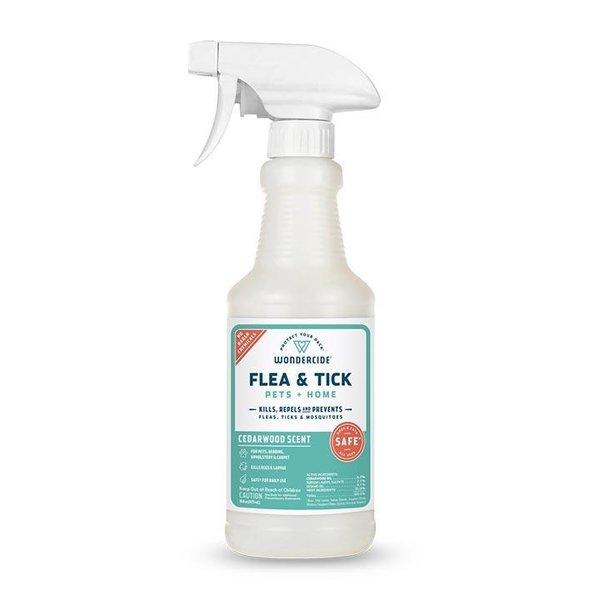 Wondercide Flea & Tick Treatment Cedarwood, 16 oz bottle