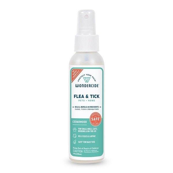Wondercide Flea & Tick Treatment Cedarwood, 4 oz bottle