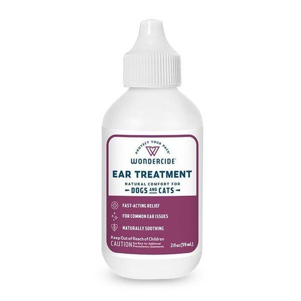 Wondercide Ear Mite Treatment for Dogs & Cats, 2 oz bottle