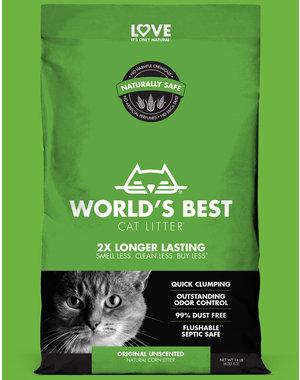 Worlds Best Litter Original Unscented Formula, 28 lb bag