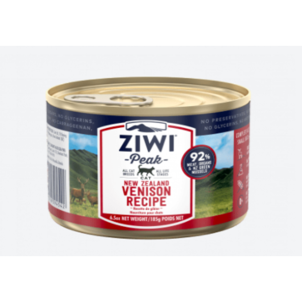 Ziwi Peak Venison Canned Cat Food, 6.5 oz can