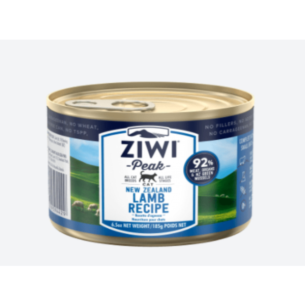 Ziwi Peak Lamb Canned Cat Food, 6.5 oz can