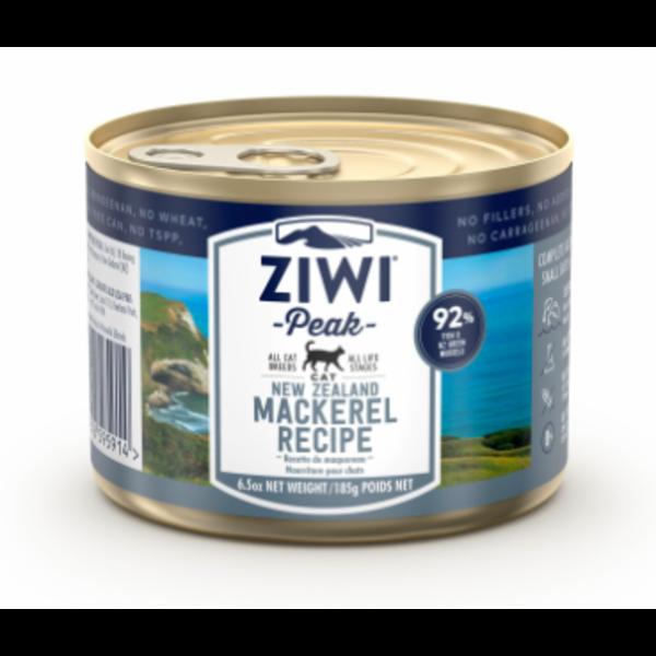 Ziwi Peak Mackerel Canned Cat Food, 6.5 oz can